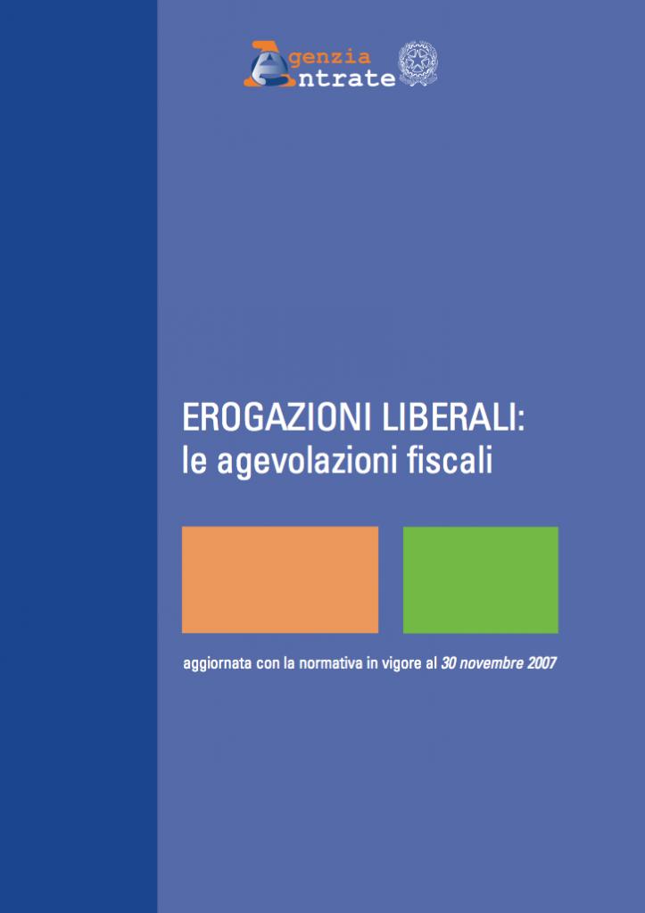 Le Erogazioni Liberali ad enti ed associazioni: come funzionano