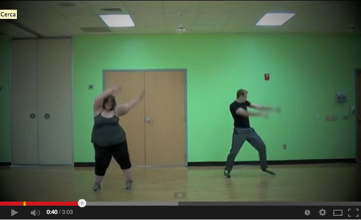 La ballerina sovrappeso – 130 chili di bravura e simpatia