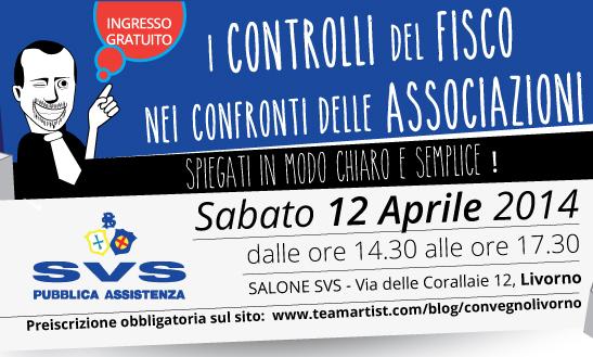 Il 12 Aprile 2014 convegno GRATUITO di TeamArtist a Livorno!