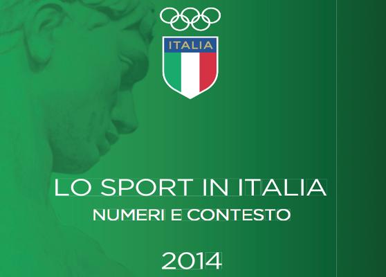 I numeri 2014 delle Associazioni Sportive in Italia