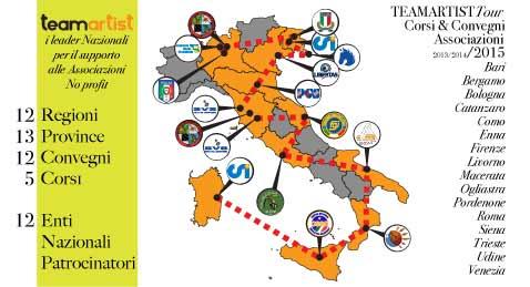 Scrivi alla tua Federazione/ Ente e chiedi di organizzare un Convegno con TeamArtist! – 2015