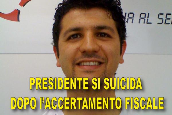 Presidente di Associazione si suicida dopo l'Accertamento Fiscale