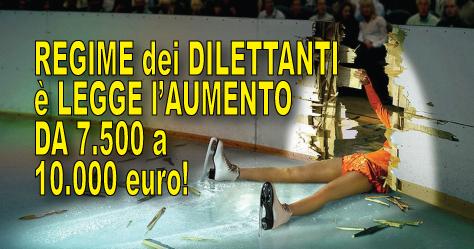 Finalmente è legge: aumentato da 7.500 euro a 10.000 il limite esentasse dei rimborsi per i dilettanti
