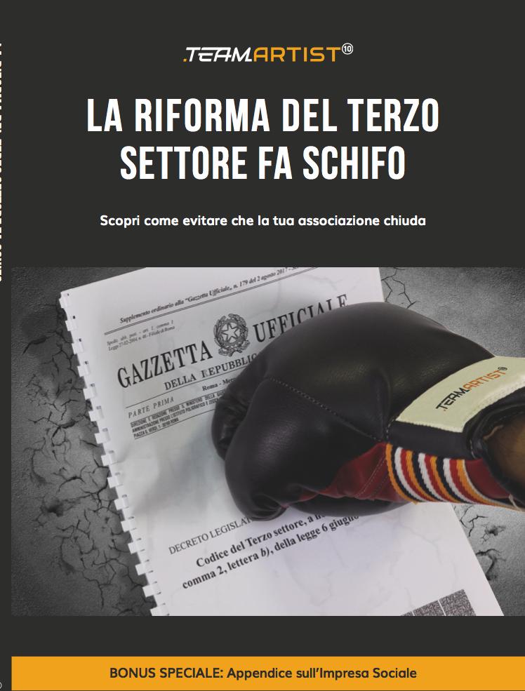 L'8 febbraio a Roma Convegno sulla Riforma del Terzo Settore