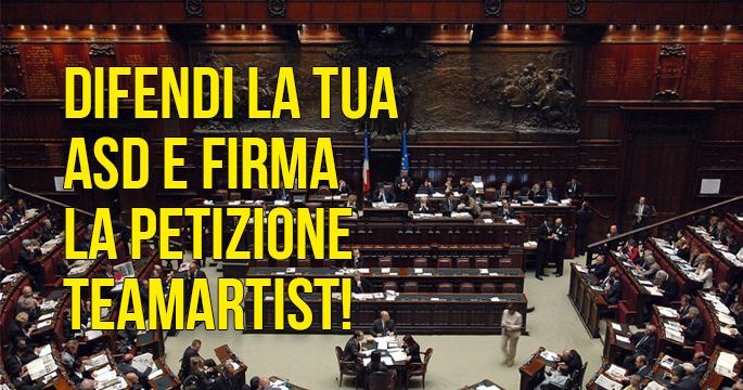 IL GOVERNO VUOLE PRENDERE 2 DECISIONI A FAVORE DI TUTTE LE ASD MA STANNO TENTANDO DI BLOCCARLO. AIUTACI!