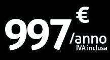 Grandi associazioni - 997€/anno iva inclusa