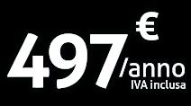 Piccole associazioni - 497€/anno iva inclusa