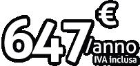 Pacchetto platino - 647€/anno iva inclusa
